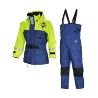 Fladen Scandia 2-Piece Flotation Suit - Blue