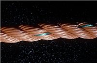 Gael Force 3 Strand Polyethylene Rope