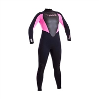 Typhoon Junior Storm 3mm Full Wetsuit (Pink)