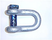 Gael Force Square Head Alloy D Shackle & Bow Shackle