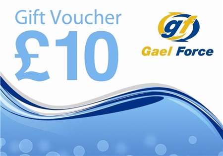 Gael Force £10 In-Store Chandlery Gift Voucher  - Click to view a larger image