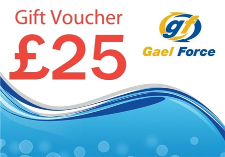 Gael Force £25 In-Store Chandlery Gift Voucher  - Click to view a larger image