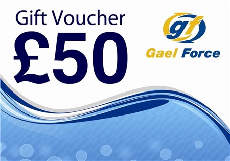 Gael Force £50 In-Store Chandlery Gift Voucher  - Click to view a larger image