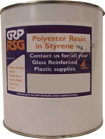 Glassfibre Polyester Resin - 1kg - standard