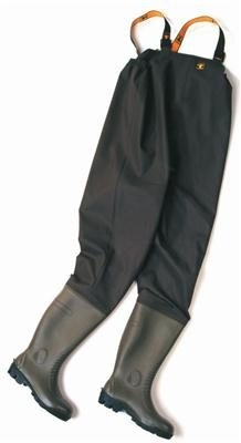 156eff4c36b Cotbot Chest High Waders - Khaki Size 41