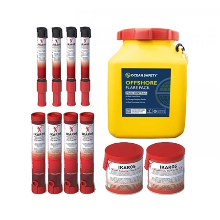 Hansson Ikaros Offshore Flare Pack  - Click to view a larger image