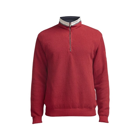 Holebrook Classic Sweater - Red  - Click to view a larger image