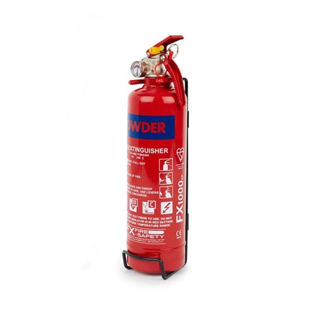 FX ABC Dry Powder Extinguisher 1kg  - Click to view a larger image