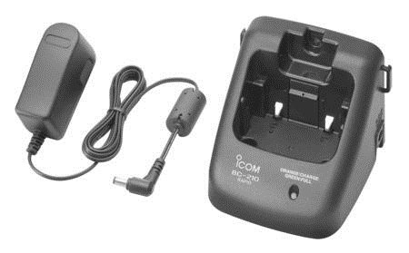 Icom BC-210 Fast Charging Cradle  - Click to view a larger image