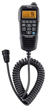 Icom HM-195 Command Mic  - Click to view a larger image