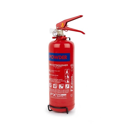FX ABC Dry Powder Extinguisher 2kg  - Click to view a larger image