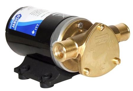 Jabsco Junior Puppy Flexible Impeller Pump 24v DC