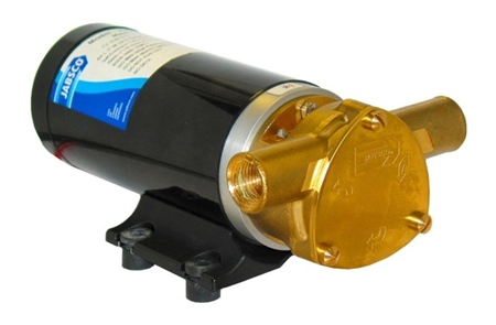 Jabsco Maxi Puppy 3000 Flexible Impeller Pump 24v DC