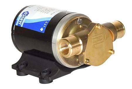 Jabsco Mini Puppy Flexible Impeller Pump 12v DC