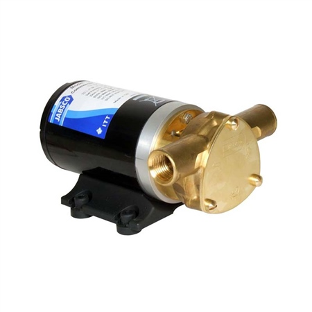 Jabsco Water Puppy 2000 Flexible Impeller Pump 12v  - Click to view a larger image