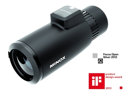 Minox MD 7x42 Monocular with Built-in Compass  - Click to view a larger image