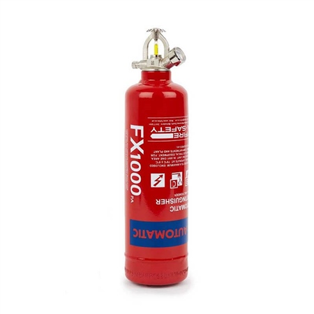 FX Automatic ABC Dry Powder Extinguisher 1kg  - Click to view a larger image