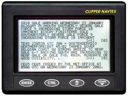 NASA Clipper Navtex