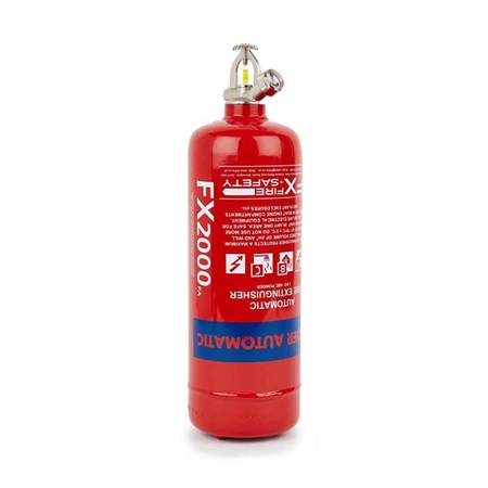 FX Automatic ABC Dry Powder Extinguisher 2kg  - Click to view a larger image