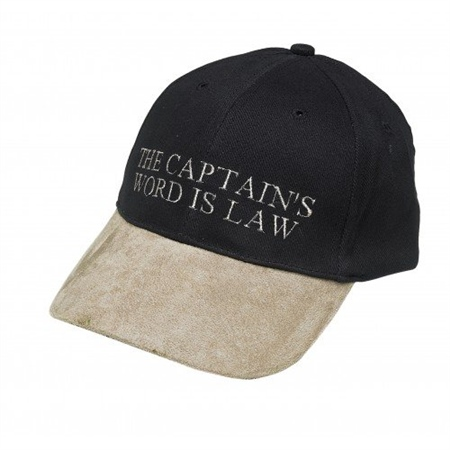Nauticalia Yachting Cap - The Captains Word is Law