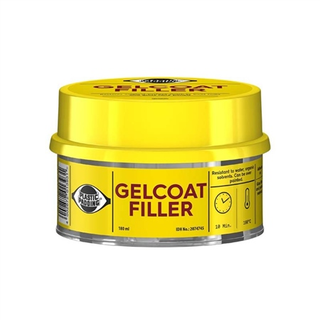 Plastic Padding Gelcoat Filler 180ml  - Click to view a larger image