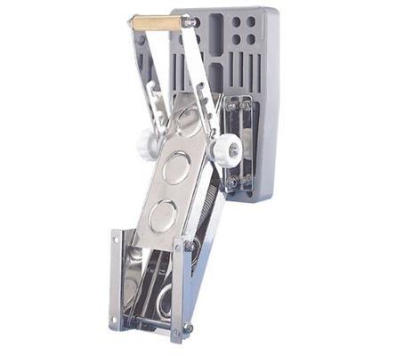 Gael Force Stainless Steel Outboard Motor Bracket 15hp