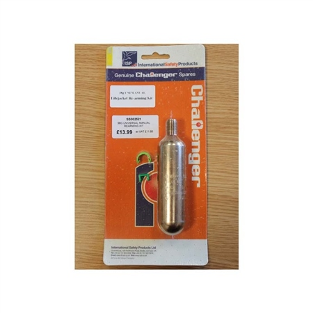 Gael Force 38g CO2 Cylinder Universal Manual Re-arming Kit  - Click to view a larger image