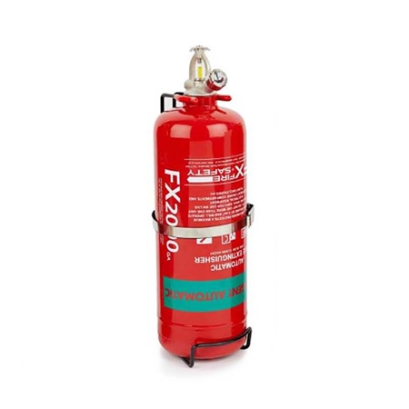 FX GTFE Halon Replacement Fire Extinguisher 2kg
