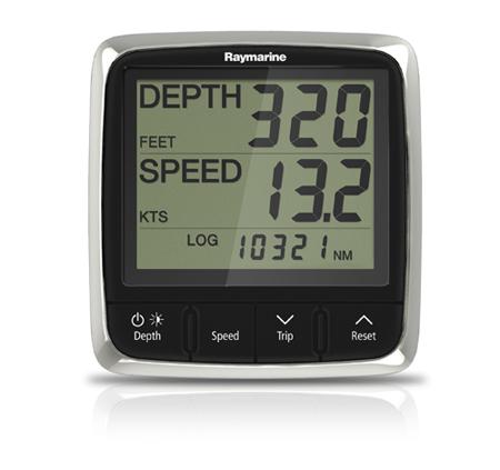 Raymarine i50 Tridata Instrument Display - Digital