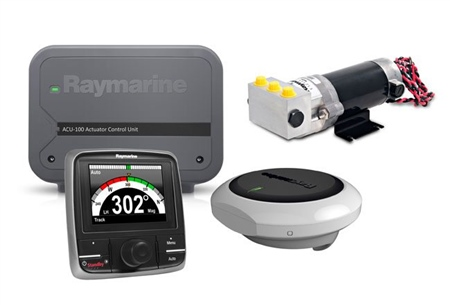 Raymarine Evolution EV-100 Hydraulic Pilot  - Click to view a larger image
