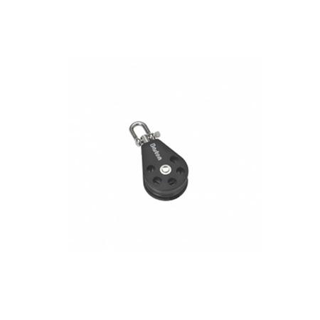 Barton Single Swivel Block (Plain Sheave)  - Click to view a larger image