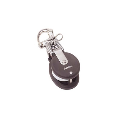 Barton Stainless Snap Shackle Snatch Block
