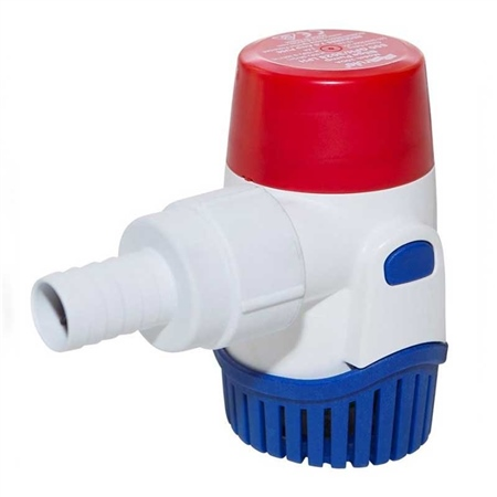 Rule 800 Round Submersible Pump 12v DC  - Click to view a larger image