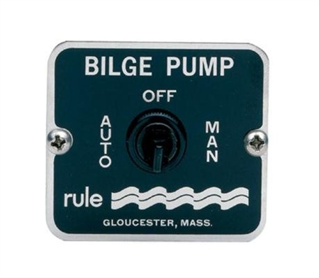 Rule 3-Way Panel Switch 12 / 24v DC