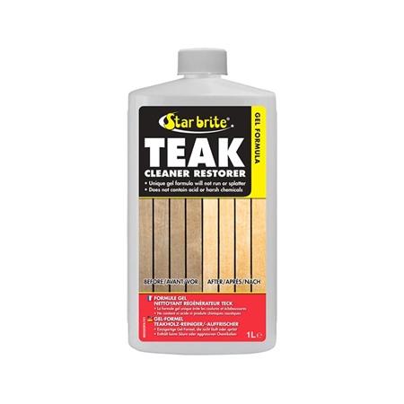 Starbrite Gel Formula Teak Cleaner & Restorer 1ltr  - Click to view a larger image