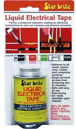Starbrite Liquid Electrical Tape 4oz  - Click to view a larger image