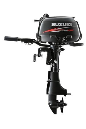 Suzuki 6hp 4 stroke outboard motor gael force marine for Hangkai 3 5 hp outboard motor manual