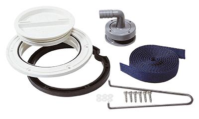Vetus Fitting Kit for Waste Water Rigid Tank