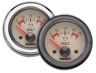 Vetus Voltmeter  - Click to view a larger image