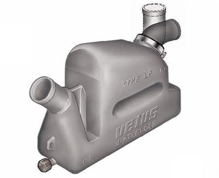 Vetus Plastic Waterlock - Rotating Inlet