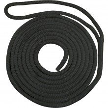 Waveline Pre-Spliced Dockline - Black 16mm (14mtr)