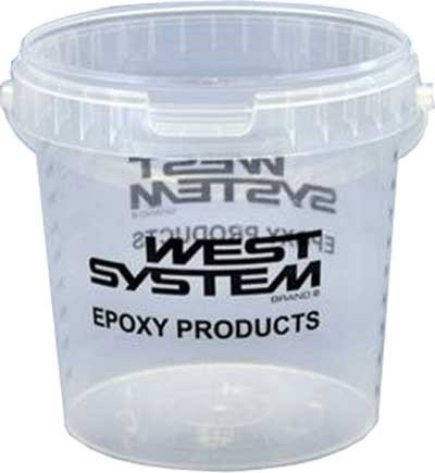 West System 805 Mixing Pot 800ml  - Click to view a larger image