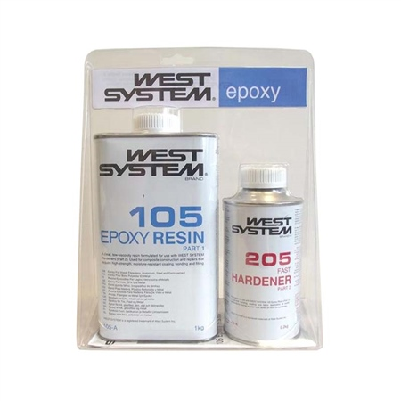 West System Epoxy A Pack  - Click to view a larger image