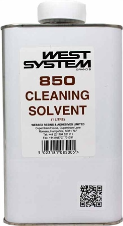 West System 850 Cleaning Solvent 1ltr  - Click to view a larger image