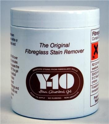 Y10 Fibreglass Stain Remover 340g  - Click to view a larger image