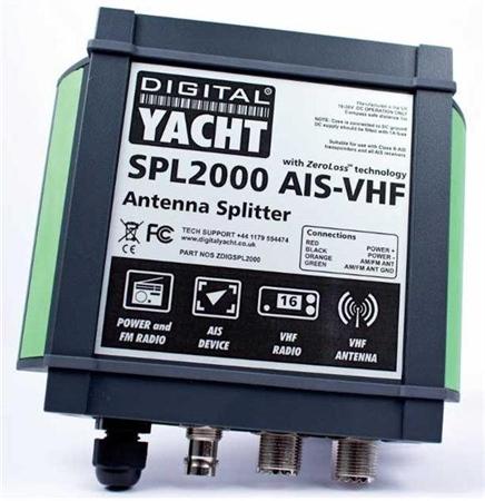 Digital Yacht SPL2000 VHF Antenna Splitter