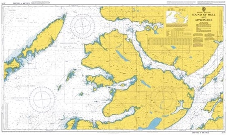 Admiralty Chart 2171 Sound of Mull and Approaches  - Click to view a larger image
