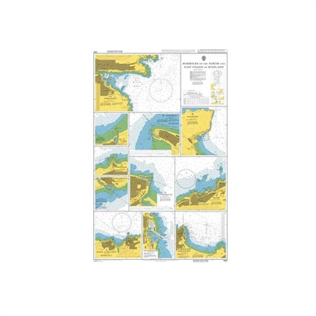 Admiralty A Class Charts - Harbours on North & East of Scotland  - Click to view a larger image