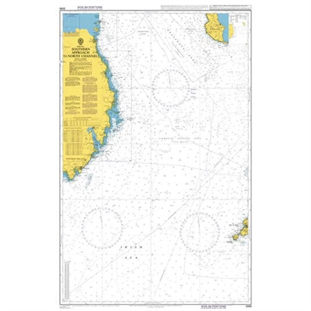 Admiralty Chart 2093 Southern Approach to North Channel  - Click to view a larger image