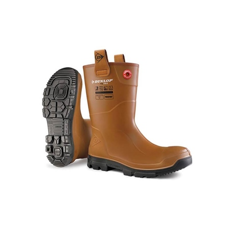 Dunlop Rig-Air Fur Lined Safety Boot